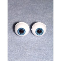 Doll Eye - Real Eyes - 18mm - Blue