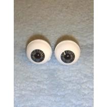 Doll Eye - Real Eyes - 18mm - Newborn Dark Blue