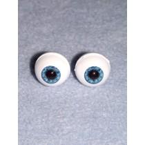 Doll Eye - Real Eyes - 22mm - Blue