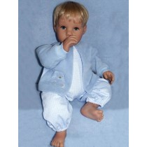 "Doll Kit - Num-Num - 22"" Blue Eyes"