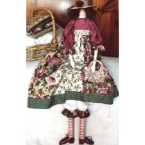 Dora (Miss Shabby Chic) Cloth Doll Pattern