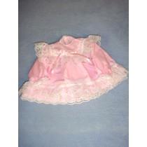 """Dress - 14"""" Pink w_Lace"""