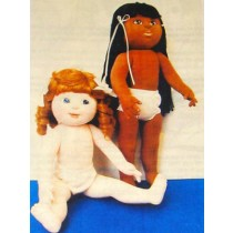 Dress Me Doll Cloth Doll Pattern