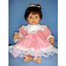 "Dress Set - 19"" Toddler - Pink"