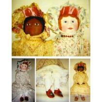 Emma Rose Cloth Doll Pattern