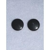 Eye - Flat Sew-On 15mm Black Pkg_100