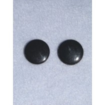 Eye - Flat Sew-on 10mm Black Pkg_20