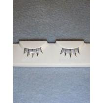 Eyelashes - Glitter Silver