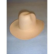 Felt Cowboy Hat - Beige - 7 3_4