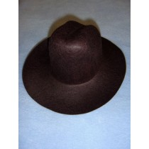 Felt Cowboy Hat - Brown - 7 3_4