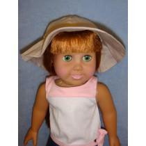 "Floppy Hat - 18"" Doll"