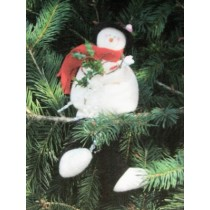 Frostee Weighted Snowman Pattern