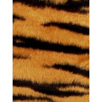 Fur - Short Pile - Tiger Stripe