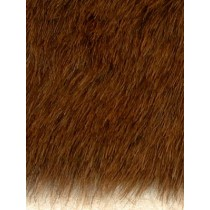 Fur - Teddy Bear - Brown Heather