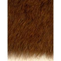 Fur - Teddy Bear - Brown Heather
