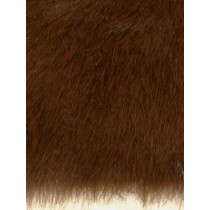 Fur - Teddy Bear - Medium Brown