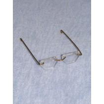 "Glasses - Hexagon - 1 7_8"" Acrylic"
