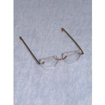 "Glasses - Hexagon - 2 5_8"" Acrylic"