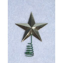 "Gold Star Tree Topper 1 1_2"" pkg_2"