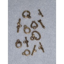 Gold Toggle Pack - Asst