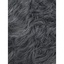 Gray Luxury Shag Fur - 1 Yd