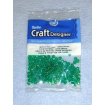 Green Faceted Beads 4mm 140 pcs