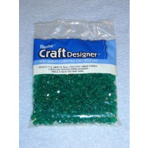 Green Faceted Beads 6mm 480 pcs