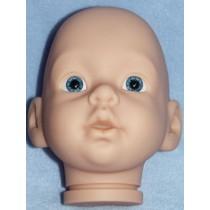 Guppy Head w_Blue Eyes - Translucent