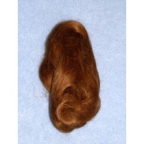 Hair - English Mohair-Lt. Brown -1 Yd