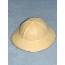 """Hat - 6 1_2"""" Felt Safari - Beige"""