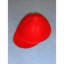 "Hat - Baseball - 2 3_4"" Red"