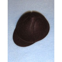 "Hat - Baseball - 3 3_4"" Brown"