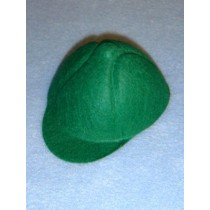 "Hat - Baseball - 3 3_4"" Green"