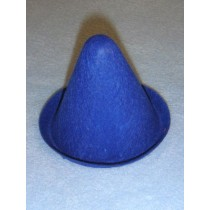 "Hat - Clown - 3"" Blue"