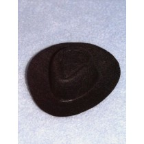 "Hat - Cowboy - 4 1_2"" Black"