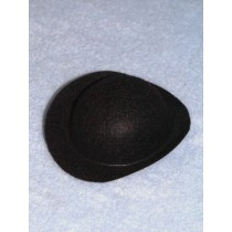 "Hat - Derby - 6"" Black"