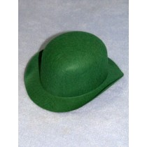 "Hat - Derby - 6"" Green"