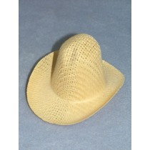 "Hat - Farmer Straw - 7 1_2"" Natural"