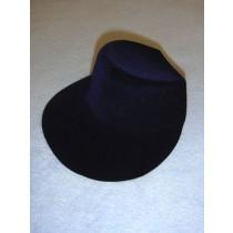 "Hat - Flocked Bonnet - 6"" Royal Blue"