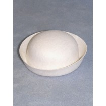 "Hat - Sailor - 5"" White"