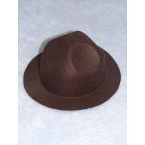 "Hat - Smokey - 6"" Brown"