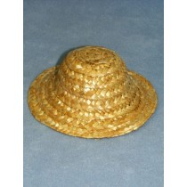 "Hat - Straw - 4"" Natural"
