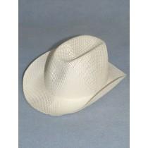 "Hat - Straw Cowboy - 8 1_2"" White"