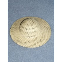 "Hat - Straw Picture - 8 1_2"" Natural"