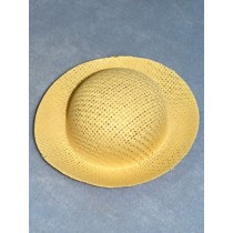 "Hat - Straw Roller - 5 3_4"" Natural"