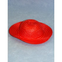 "Hat - Synthetic Straw - 8"" Asst"