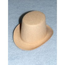 "Hat - Top - 3"" Beige"