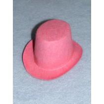 "Hat - Top - 3"" Pink"
