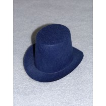 "Hat - Top - 4"" Blue"