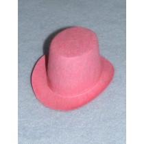 "Hat - Top - 4"" Pink"